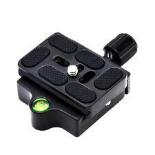 Professional Camera Tripod Monopod Quick Release Clamp Adapter Aluminum Plate Ca
