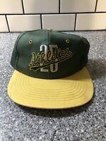 Vtg Oakland Athletics Mark McGwire Snapback Hat Cap Adjustable MLB A's