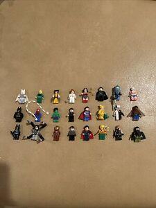 lego superhero minifigures RARE