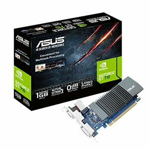 ASUS NVIDIA GT710 equipped with video card GT710-SL-1GD5-BRK