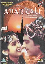 Anarkali - pradeep KUMAR - Bina RAI - Nuevo Original Bollywood DVD