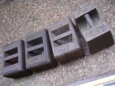 More details for  vintage 56lb iron weight x4 (retford)