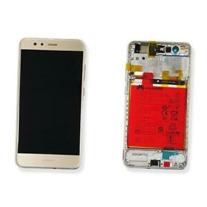 DISPLAY LCD VETRO TOUCH SCREEN GOLD COMPLETO ORIGINALE HUAWEI P10 LITE WAS-LX1A