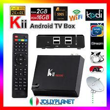 K2 Pro DVB-S2 DVB-T2 Android 7.1 2GB Quad Core 2GHz 16GB TV Box WiFi K1