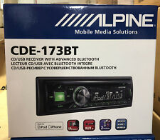 Alpine CDE173BT Car Stereo with Built-in Bluetooth Handsfree//USB//Aux Input