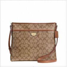 Coach Canvas Messenger & Cross Body Handbags
