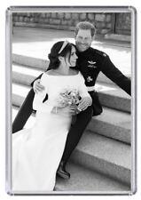 Prince Harry and Meghan Markle Royal Wedding Fridge magnet 06