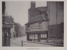 The Old Curiosity Shop Portsmouth St London England Print 1896