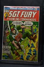 Sgt Fury and His Howling Commandos #106 Marvel Comic 1973 Stan Lee Ayers 7.5