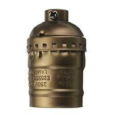 E27 Fassung fuer Edison Vintage Stil Gluehbirne Kupfer(ohne Schalter+Draehte) GY