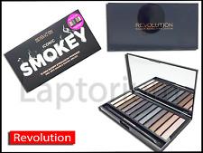 Perfetto il trucco Revolution Eyeshadow Palette iconica Smokey Ombretto in polvere - 12