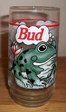 "1995 Budweiser ""Bud-Weis-Er"" Frogs Glass"