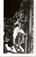 Vintage 1940s photo - Gay & Hunting Interest photo, men with rifle