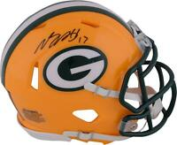 Davante Adams Green Bay Packers Autographed Riddell Speed Mini Helmet