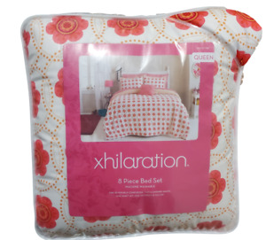 Xhilaration Medallion Floral 8-Piece Queen Bedding Set including Sheets NEW
