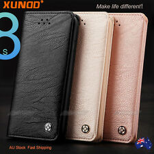 iPhone/ Samsung Galaxy S8 Plus Case Luxury XUNDD Leather Card Wallet Flip Cover
