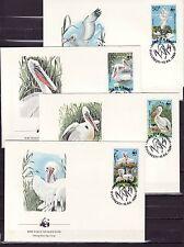 Romania 1984 - FDC - Vogels/Birds/Vögel  WWF