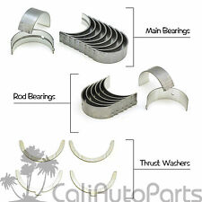 87-98 Toyota Tercel 1.5L SOHC 3E 3EE Main Rod Engine Bearings and thrust Washers