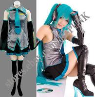 Vocaloid Hatsune Miku Cosplay Costume Full Set All Sizes