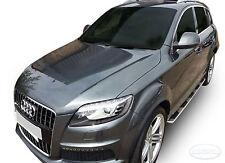 2 Marche-Pieds Latéraux MARCHE PIEDS ALUMINIUM  Audi Q7 2005 - 2012