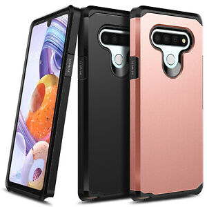 For LG Stylo 6 Case Ultra Slim Dual Layer Shockproof Hybrid Phone Cover