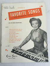 Ethel Smith Favorite Songs For Hammond Organ Music Book