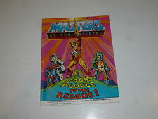"MASTERS OF THE UNIVERSE ""He-Man"" Mini Comic - Rock People to the Rescue - Comic"