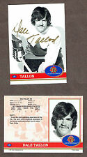 1972 Team Canada Dale Tallon Autographed Card