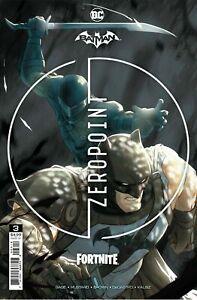 Batman Fortnite Zero Point #3 2nd second print DC PRESALE SHIPS 06/23/2021