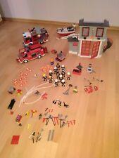 Großes Playmobil Feuerwehr Paket