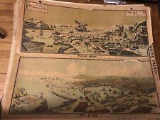 Carte Affiche scolaire Vidal Lablache n°1 Termes de Géographie