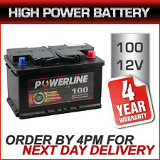 Powerline 100 High Performance Car Battery 12V 68Ah fits many Porsche Renault