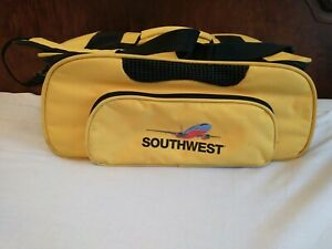 Travelers Choice Southwest Airline Pet Carrier Yellow Vented Underseat Dog Cat