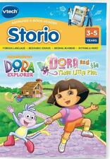 VTech Storio Dora the Explorer Software Learnin Game - Dora & the 3 Little Pigs