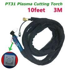 PT-31 Air Plasma Cutter Cutting Torch Body Cutting Torch Complete set 10Feet&3M