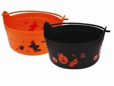 2 x Halloween Witches Cauldron Trick Or Treat Decoration Spooky Scary Kids Party