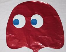 """NEW PAC MAN GHOST BLINKY RED  18"""" MYLAR BALLOON HARD TO FIND"""