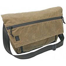"Grey Ghost Gear Waxed Canvas Wanderer Messenger Bag, Field Tan 20.5""x11.5""x4.5"""
