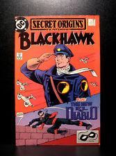 COMICS: DC: Secret Origins #45 (1980s), Blackhawk/El Diablo - RARE (flash)