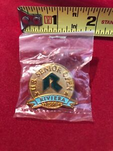 U.S. SENIOR OPEN RIVIERA DATED 1998 GOLF ORIGINAL PIN