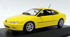 Maxichamps 1/43 Scale 940 112621 - 1997 Peugeot 406 Coupe - Yellow