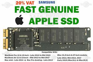 Genuine Apple 512GB SSD MacBook Pro Air iMac mini 2013 2014 2015 A1502 A1398 +