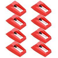 8 StüCk Platten Spieler Nadel Platten Spieler Diamant Ersatz Stylus Nadeln für