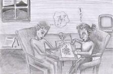 Gray Art Drawings