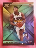 2019 Panini Chronicles xr Zion Williamson rookie card New Orleans Pelicans star