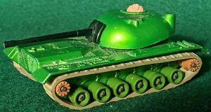 Matchbox Battle Kings K-102 M48-A2 Tank 1974 WWII era US Army Green