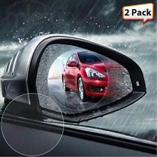 2pc Car Anti Fog Film Rearview Mirror Rain Proof Anti glare Mist Scratch Coating