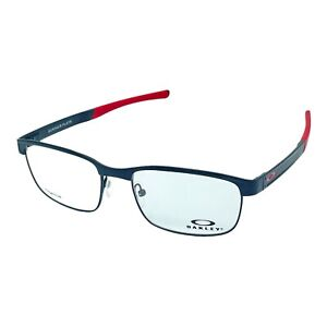 Oakley Surface Plate Matte Black/Red Eyeglasses Frames OX5132-0454 (Authentic)