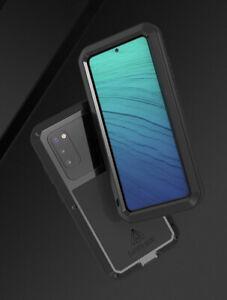 LOVE MEI Rundumschutz Display Glas Metall Case Hülle für Samsung S21 Ultra Plus