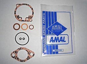 AMAL 600 Series 622 624 626 Mark 1 Concentric Carb. GASKET SET kit NEW & Genuine